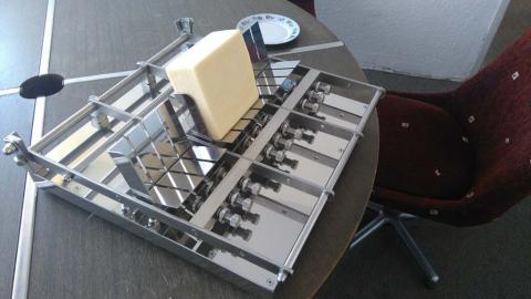 Oprema za sečenje sira