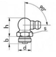 Gro As tehnički crtež mazalice SRPS M.C4.613 C oblik